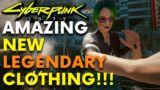 Cyberpunk 2077 – 5 New Legendary Clothes!!! (Locations & Guide)