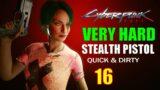 Cyberpunk 2077 Walkthrough VERY HARD Part 16, Playing For Time, Rogue & Delamain