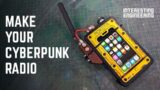 Build your own Cyberpunk 2077 iPod case   Crafty Engineer
