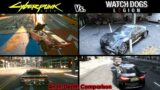 Cyberpunk 2077 Vs Watch Dogs Legion – Comparison   Details, Physics, Cities, AI, Cars, World & More