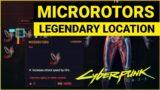 Where to get MICROROTORS Legendary Cyberware in Cyberpunk 2077?