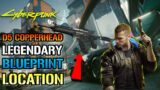 Cyberpunk 2077: How To Get The Legendary D5 Copperhead Crafting Spec (2 Different Locations)