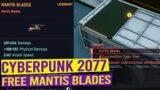 Free Legendary Mantis Blades Location – CYBERPUNK 2077