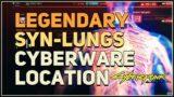 Legendary Syn-Lungs Location Cyberpunk 2077