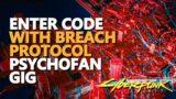 Local Network Computer Enter Code Psychofan Cyberpunk 2077