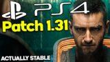 Cyberpunk 2077 PS4 Patch 1.31 Free Roam Gameplay